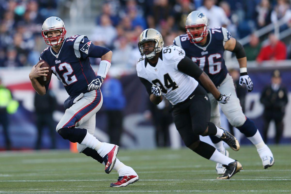 New Orleans Saints v New England Patriots