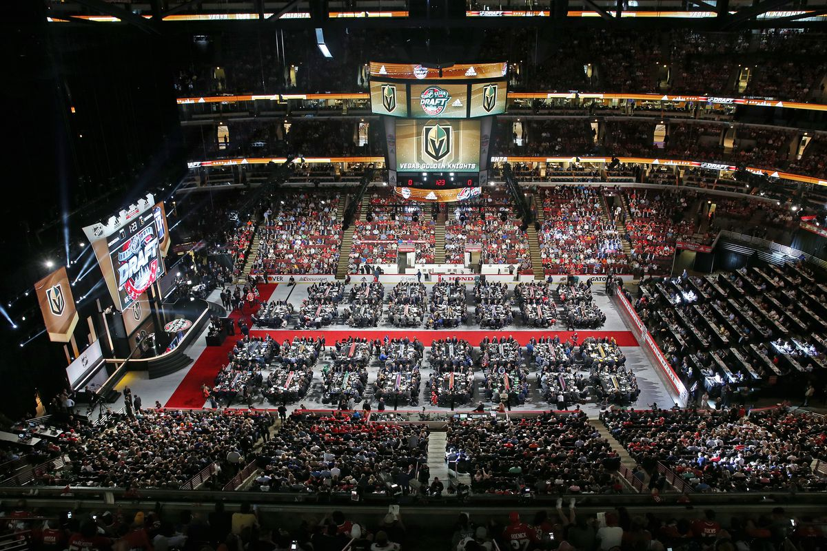 NHL Draft at the United Center