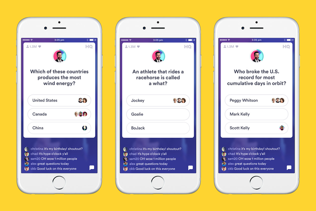 HQ Trivia is back less than two months after the app was ...