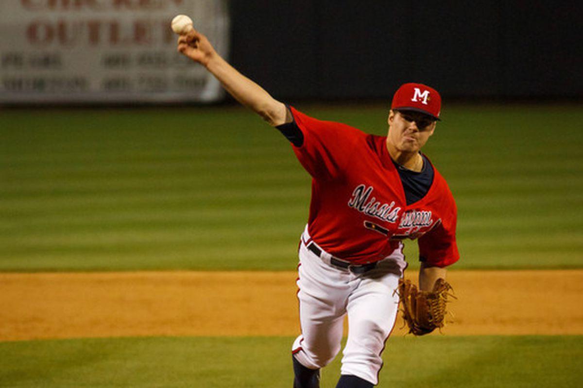 Jason Hursh got the nod for the M-Braves on Friday.