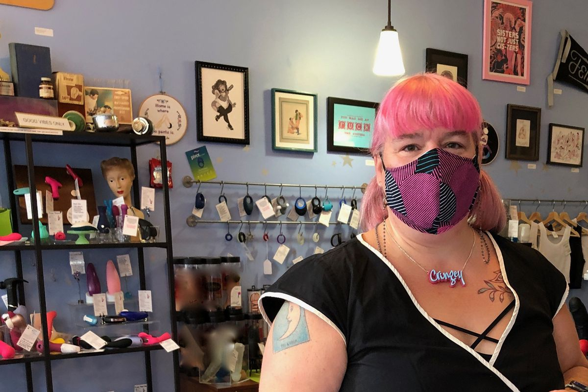 Searah Daysach began Early to Bed, her Andersonville shop, 20 years ago because she felt the experience of buying sex toys was not as fun as it should be.