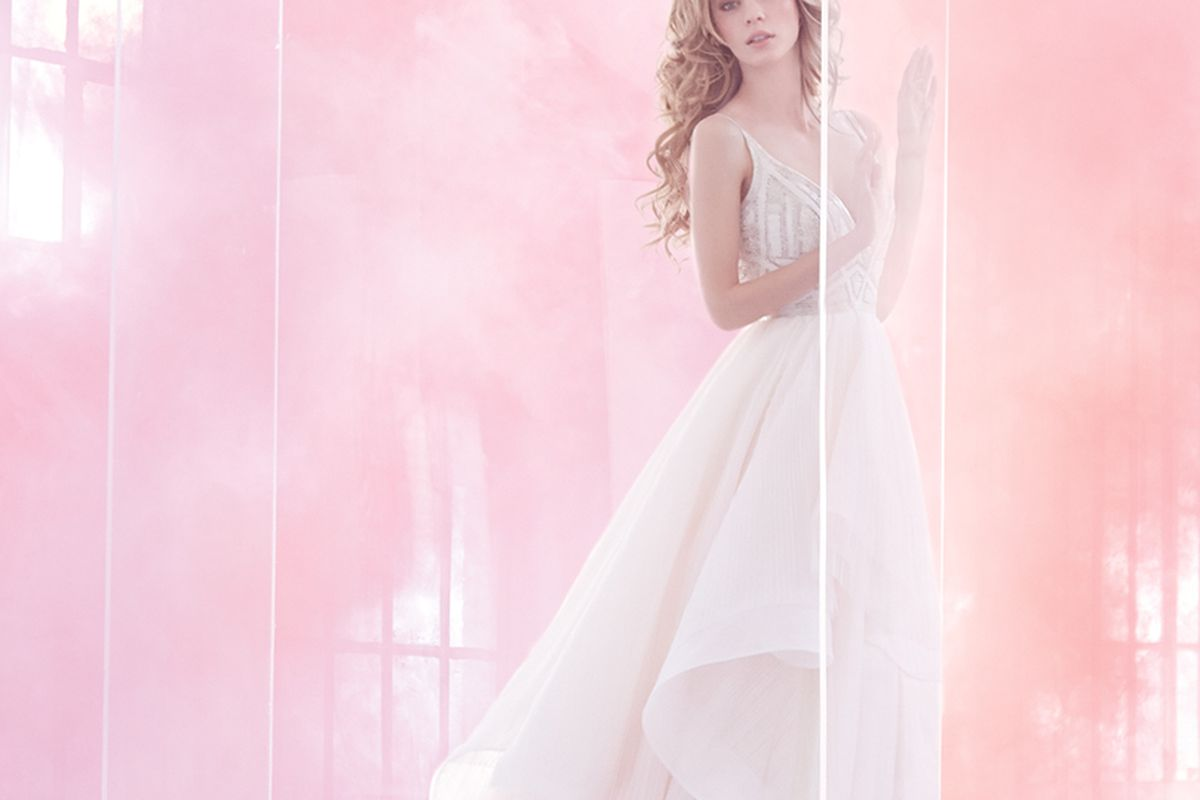 """Photo: <a href=""""http://www.jlmcouture.com/Hayley-Paige"""" target=""""_blank"""">JLM Couture</a>"""