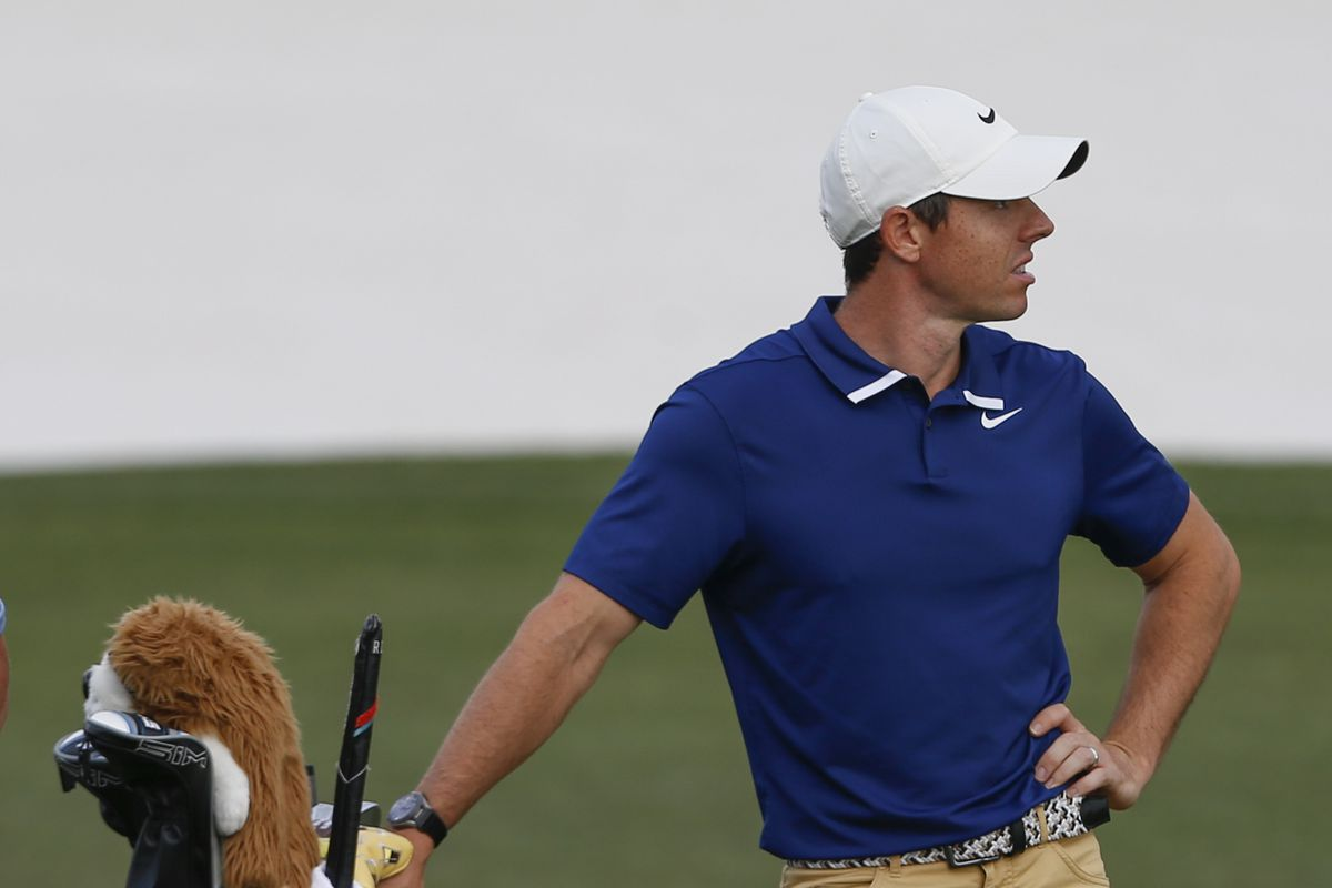 Rory McIlroy waits to hit on the 16th hole during the Arnold Palmer Invitational golf tournament at Bay Hill Club & Lodge.