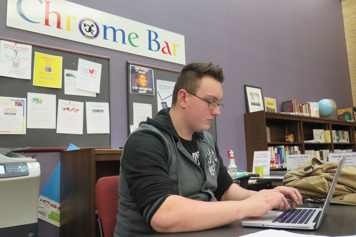 A senior at Ben Davis University, Josh Witham hopes to study computer engineering in college.