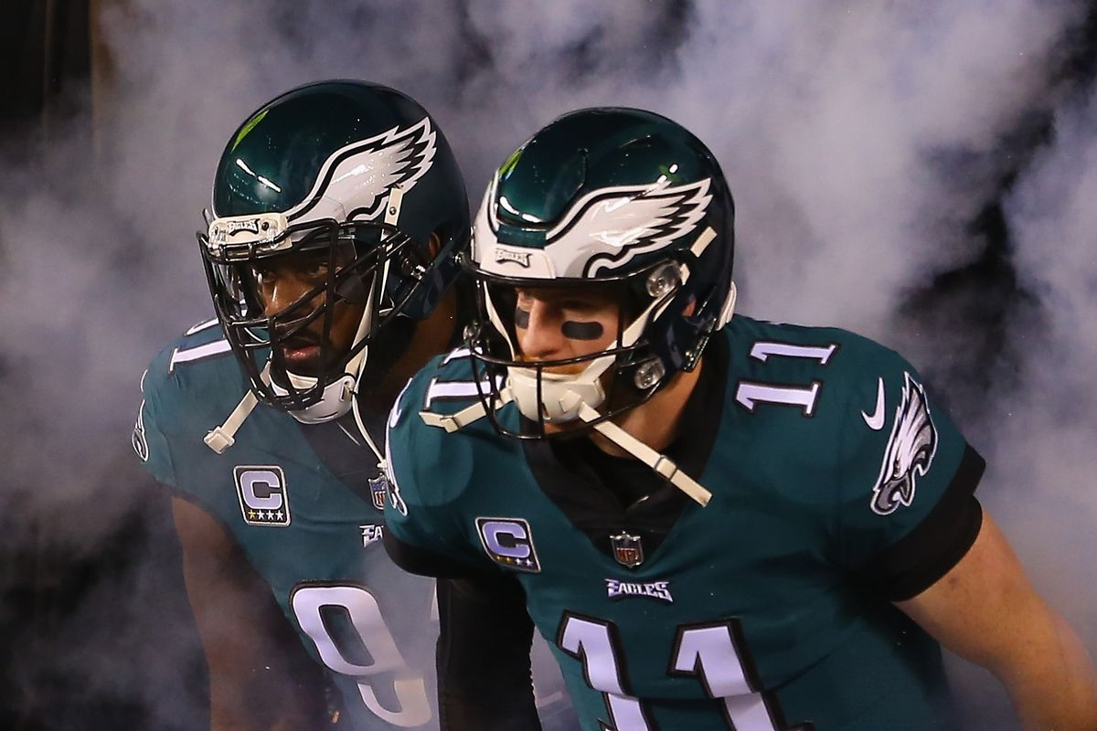 sports shoes 692ca 402dd Eagles News: 6 Eagles make CBS Sports list of top 100 NFL ...