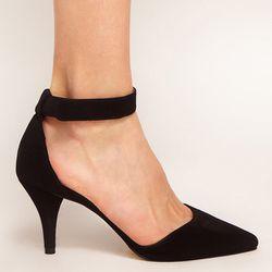 """<b>ASOS</b> SONIC Pointed Heels, <a href=""""http://www.asos.com/ASOS/ASOS-SONIC-Pointed-Heels/Prod/pgeproduct.aspx?via=rec&iid=2605644&Rf-400=53"""">$56.29</a>"""