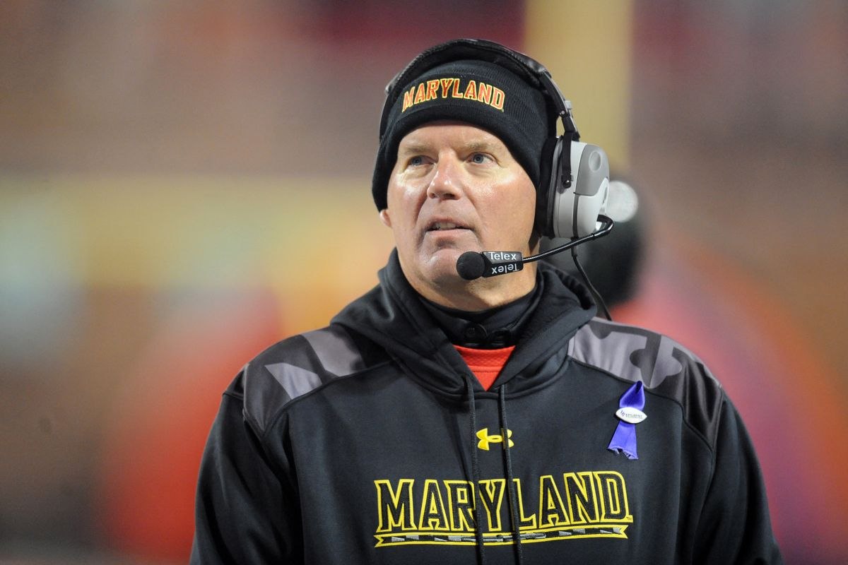 Randy Edsall's seat could get warmer if he misses on Dwayne Haskins