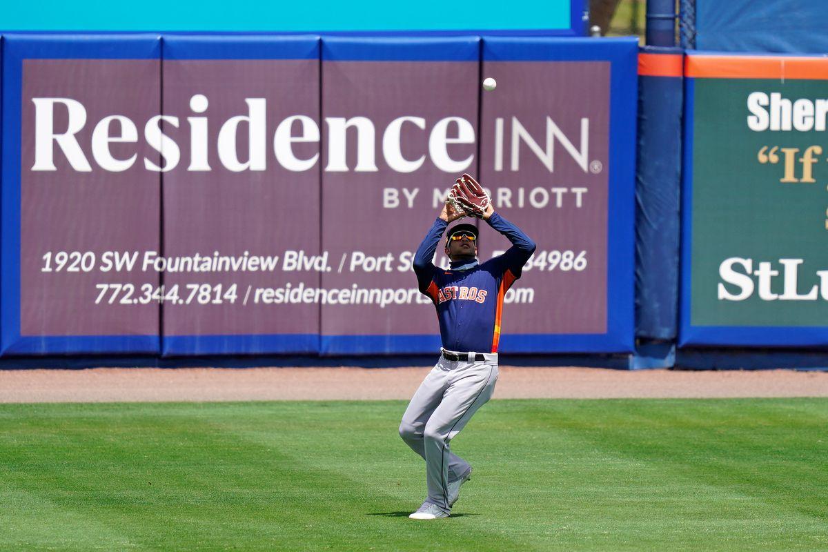 MLB: Houston Astros at New York Mets