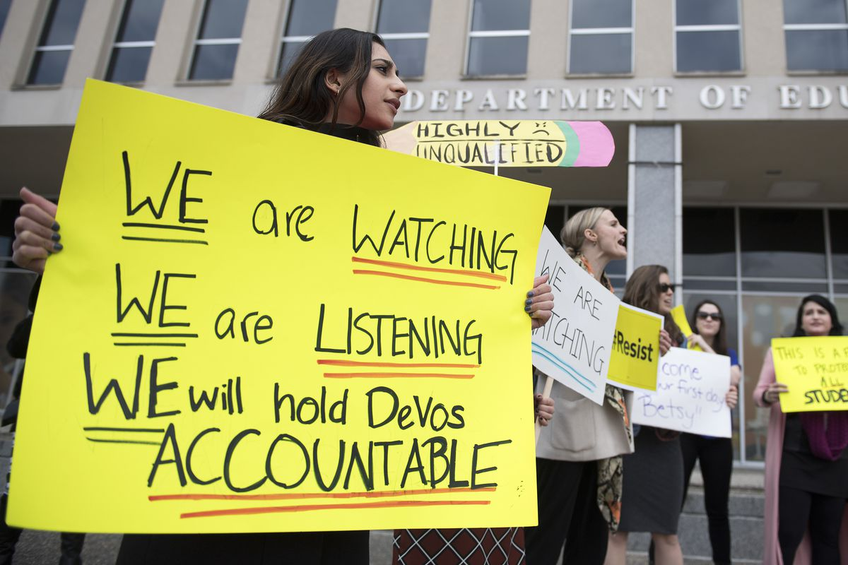 New Guidance To Help Protect Student >> Betsy Devos New Title Ix Rules Might Already Be Hurting Students Vox