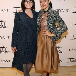 Linda Heasley and Isabel Toledo attend the in store event at the Lane Bryant on September 25, 2014 in Chicago, Illinois. (Photo by Tasos Katopodis/Getty Images for Lane Bryant)
