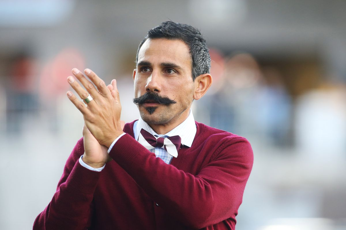 The moustache may be gone, but the man, and his club, remain