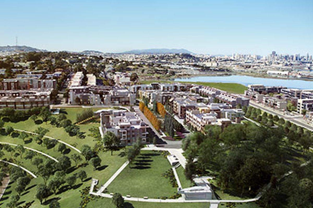 """Rendering of SF Shipyard site by <a href=""""http://www.transparenthouse.com"""">Transparent House</a>"""