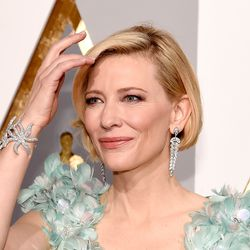 Cate Blanchett in Tiffany and Co. jewels.