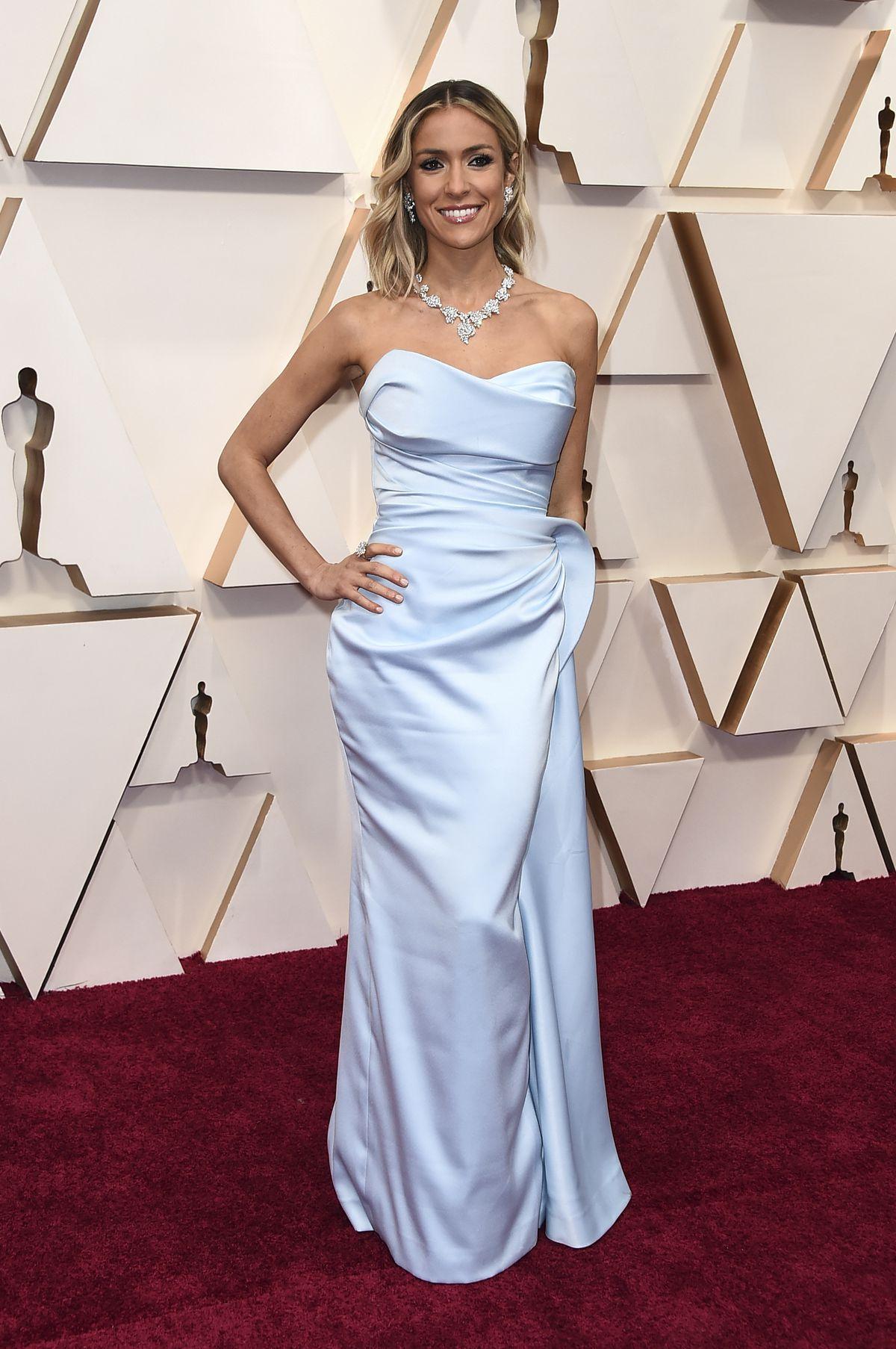 Kristin Cavallari arrives at the Oscars on Sunday