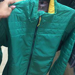 Men's outerwear full-zip, $80