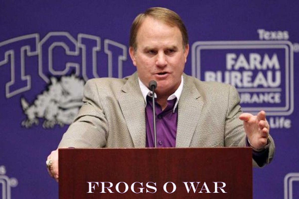 Gary Patterson's weekly presser, live-blogged at FOW