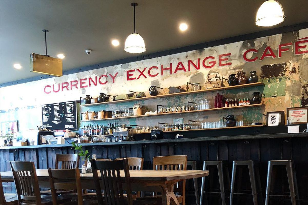 Image result for Currency Exchange Cafe now open in Washington Park