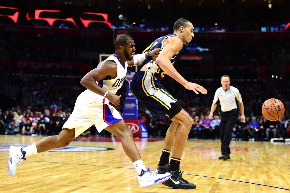 Jazz vs. Clippers, 2017 NBA playoffs ...