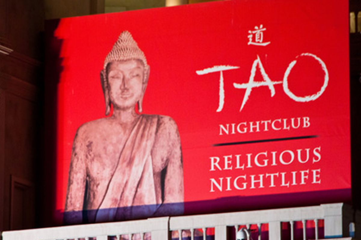 Vegas: Tao plugs its religious aspects.