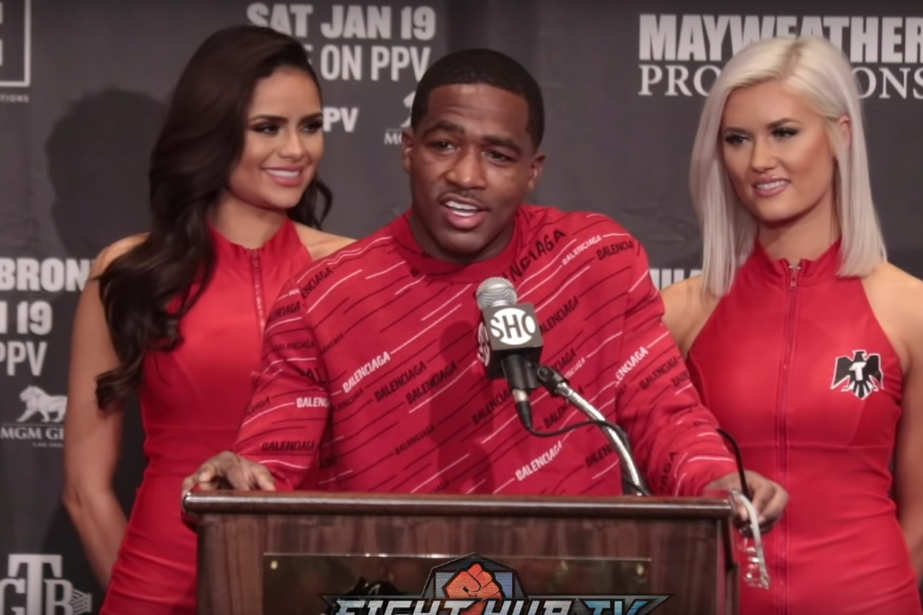 Screen Shot 2019 01 20 at 11.53.09 AM.0 - Adrien Broner's Post-Fight Press Conference