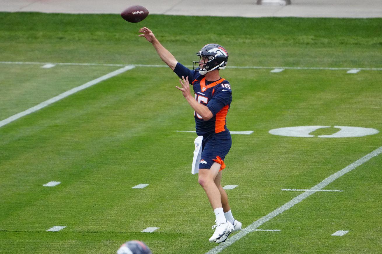NFL: Denver Broncos Rookie Minicamp