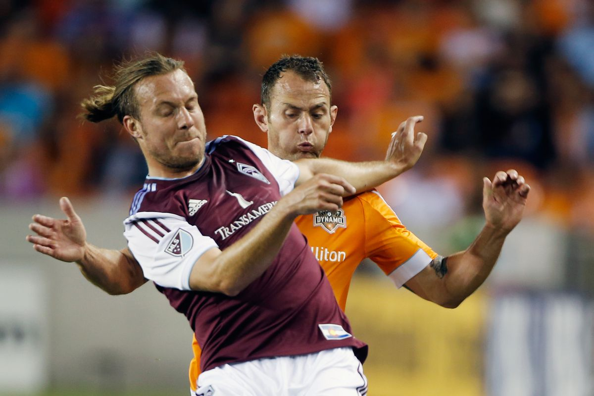 Former Colorado Rapids defender Michael Harrington figures to fight for minutes at right back with the Fire.