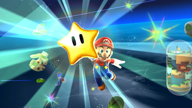 How do Super Mario Galaxy's motion controls work on Switch?