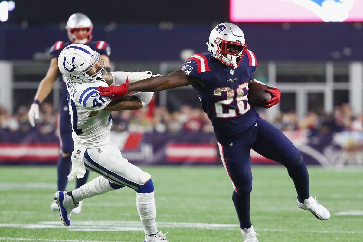 bc72c44e Colts vs. Patriots 2018 results: Tom Brady throws 3 TDs in 38-24 win ...