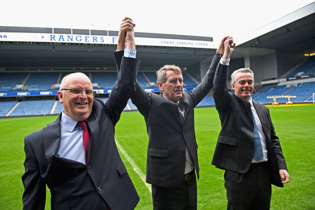 Rangers Hold Extraordinary General Meeting At Ibrox