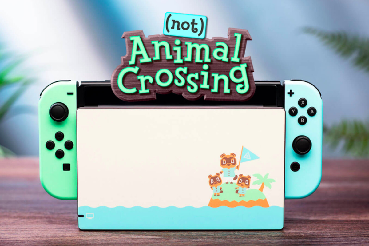 Deck Out Your Switch With Not An Animal Crossing Skin That Is