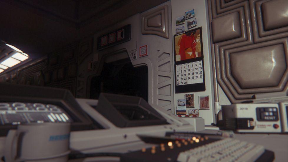 alien isolation environment art calendar
