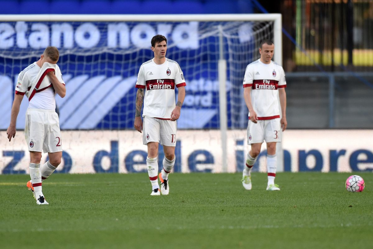 Milan's performances have been getting poorer by the week.