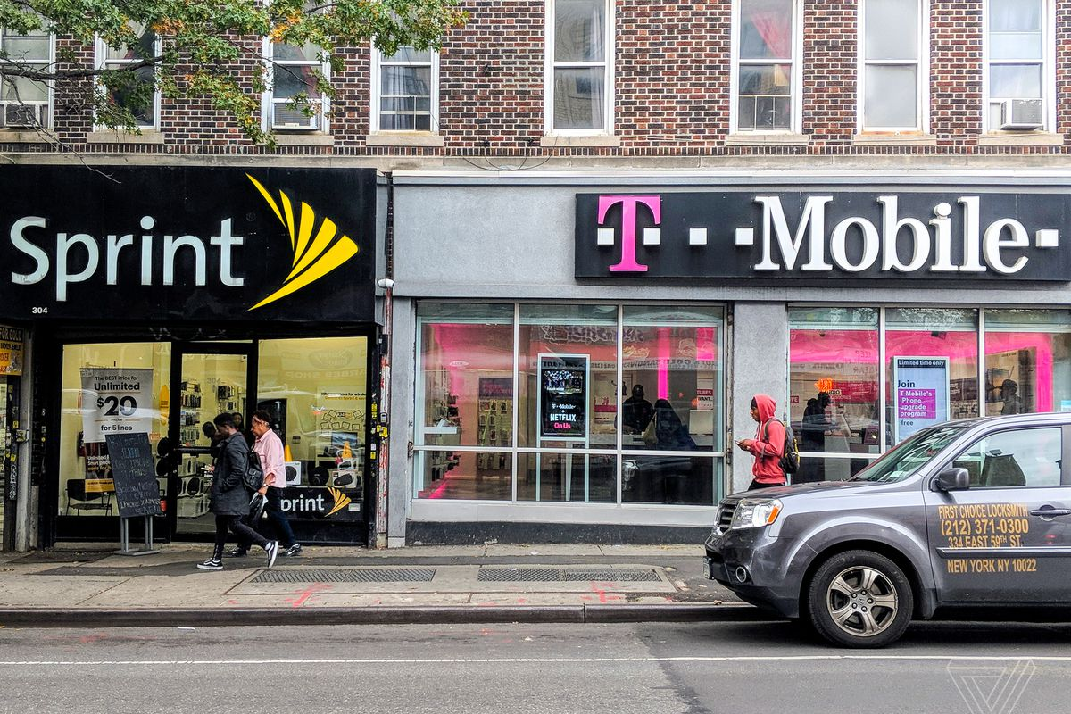 Telecom Stocks Sag After Sprint-T-Mobile Merger Talks Reportedly End