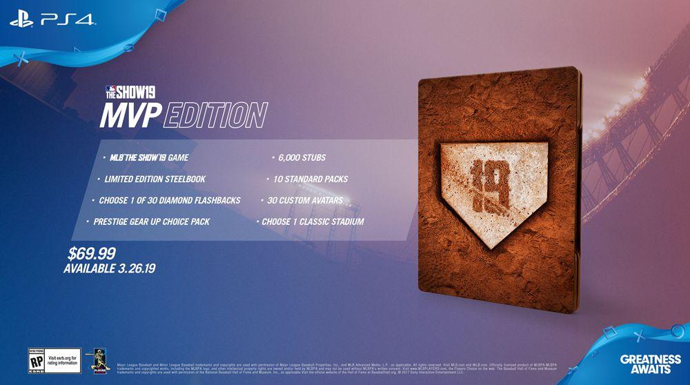 MLB The Show 19 MVP Edition