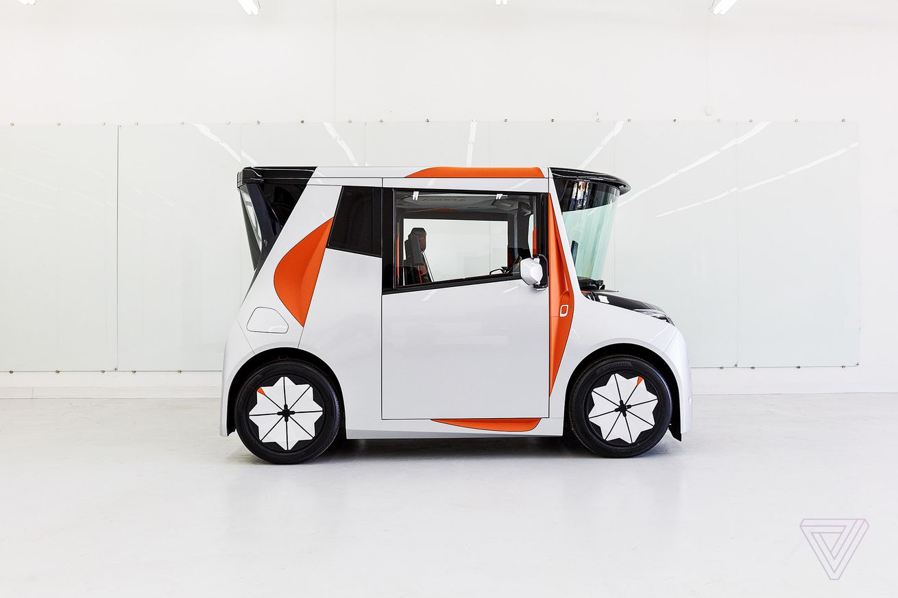 the reds ev prototype is designed to help you relax in a traffic jam