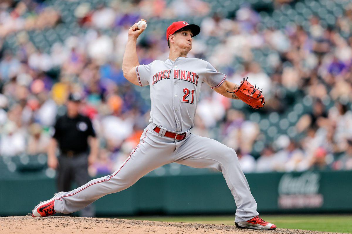 MLB: Cincinnati Reds at Colorado Rockies