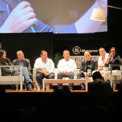 A panel of Mexican food journalists.