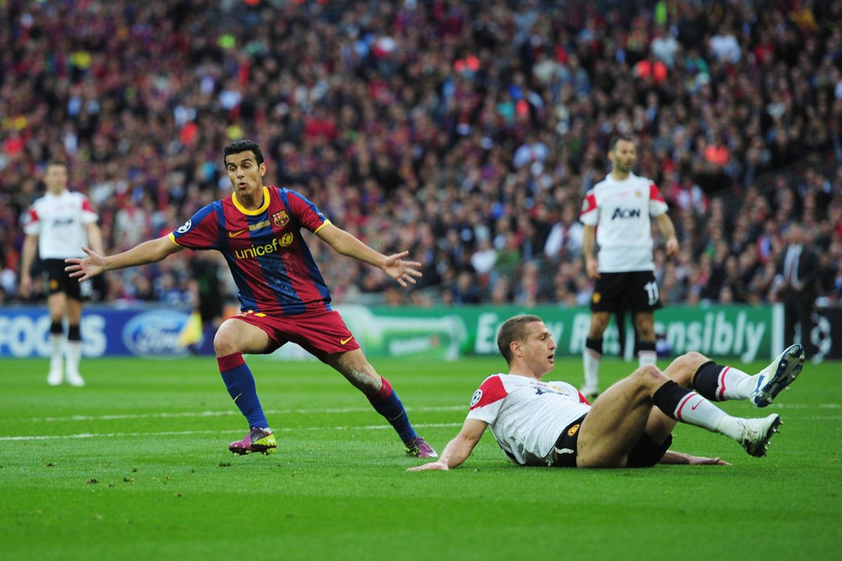 Unlucky Vidic, Pedro is not going anywhere