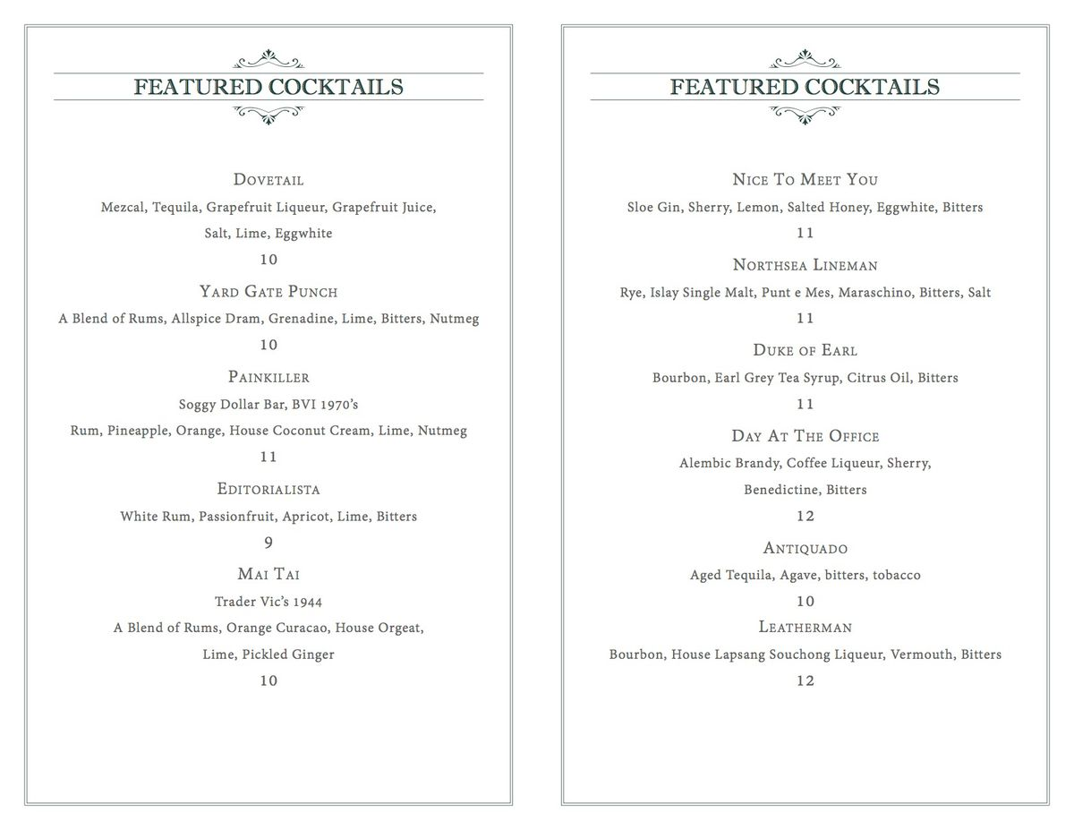 wallingford menu 3
