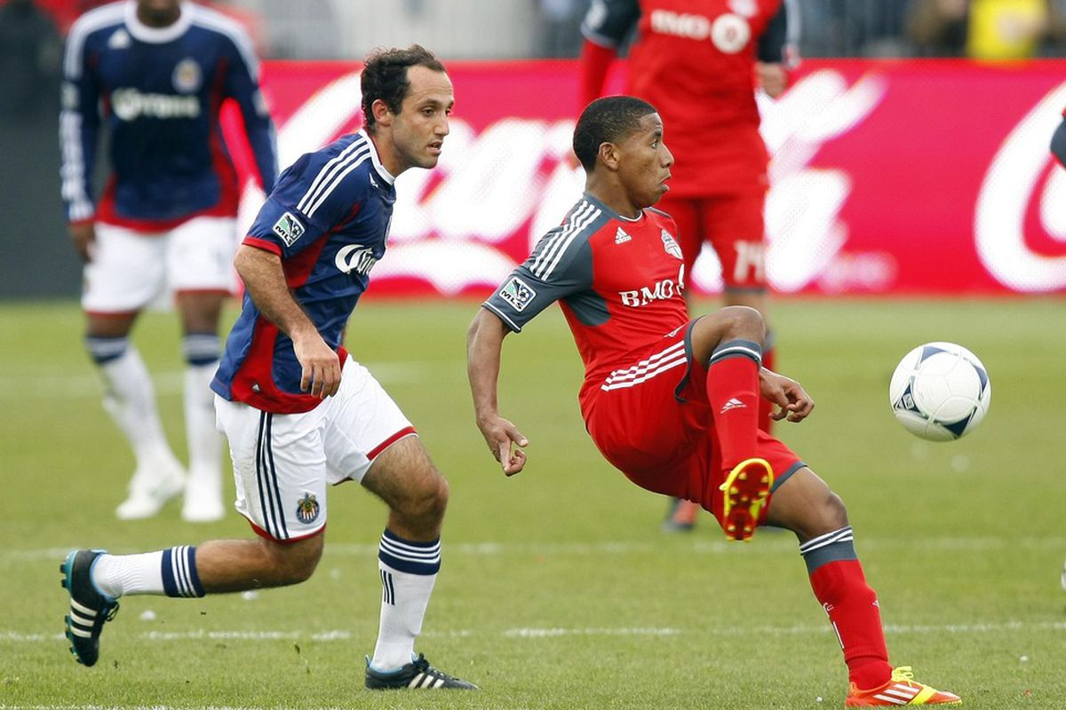 These guys played for Chivas and TFC in 2012. Now? New teams!