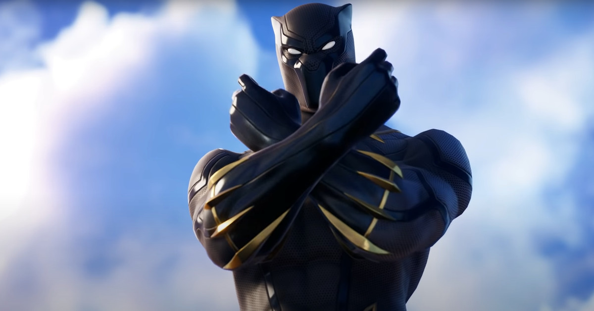 Fortnite now has a Black Panther skin and a Wakanda Forever emote - Polygon