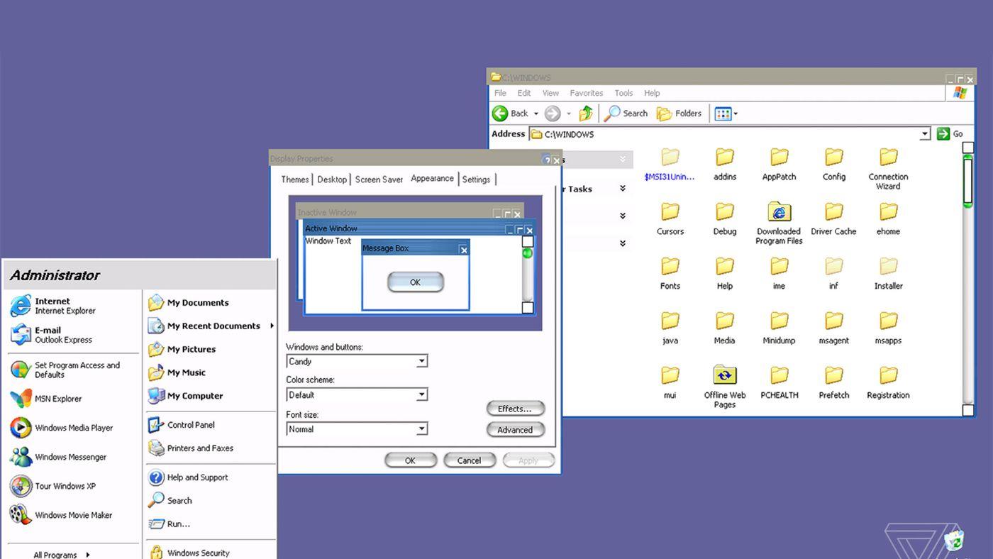 updating browser windows xp