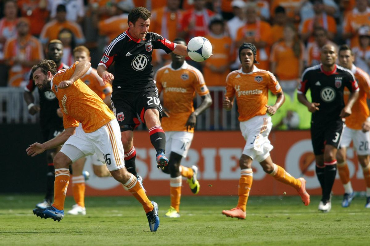 The men in orange were too much for Stephen King and D.C. United today