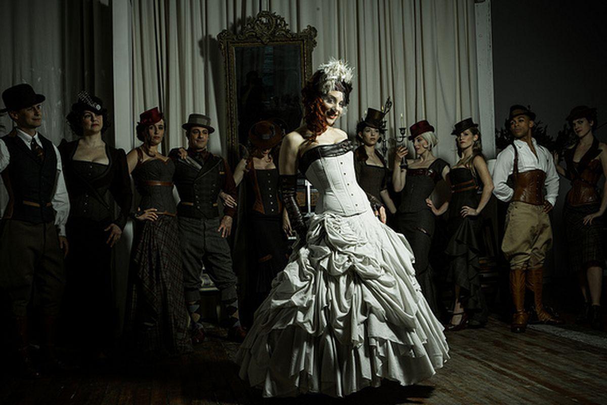 451ab692cb0 Dita Von Teese at Dark Garden  Runway Style House Show - Racked SF