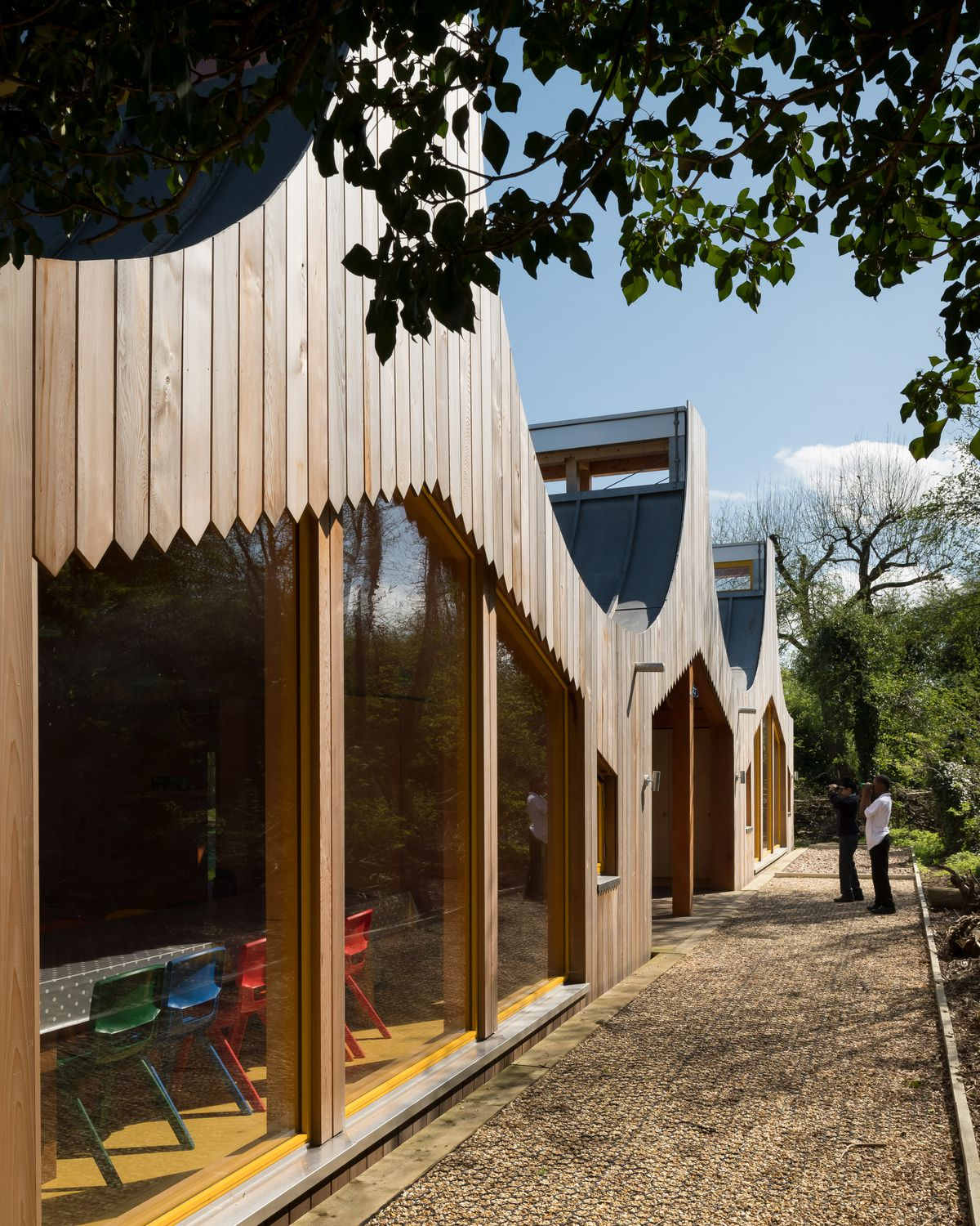 Modern school design blends nature with learning - Curbed