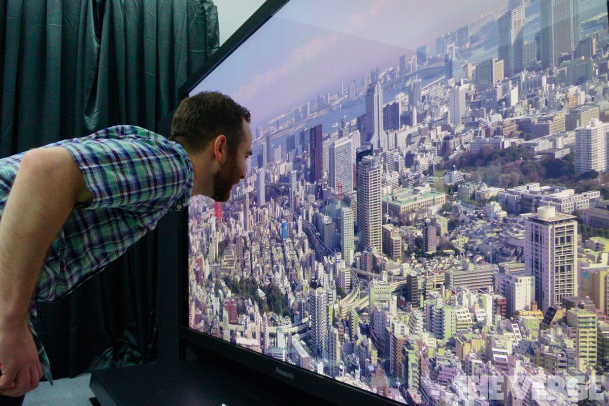 japan's nhk begins world's first 8k tv broadcasts - the verge