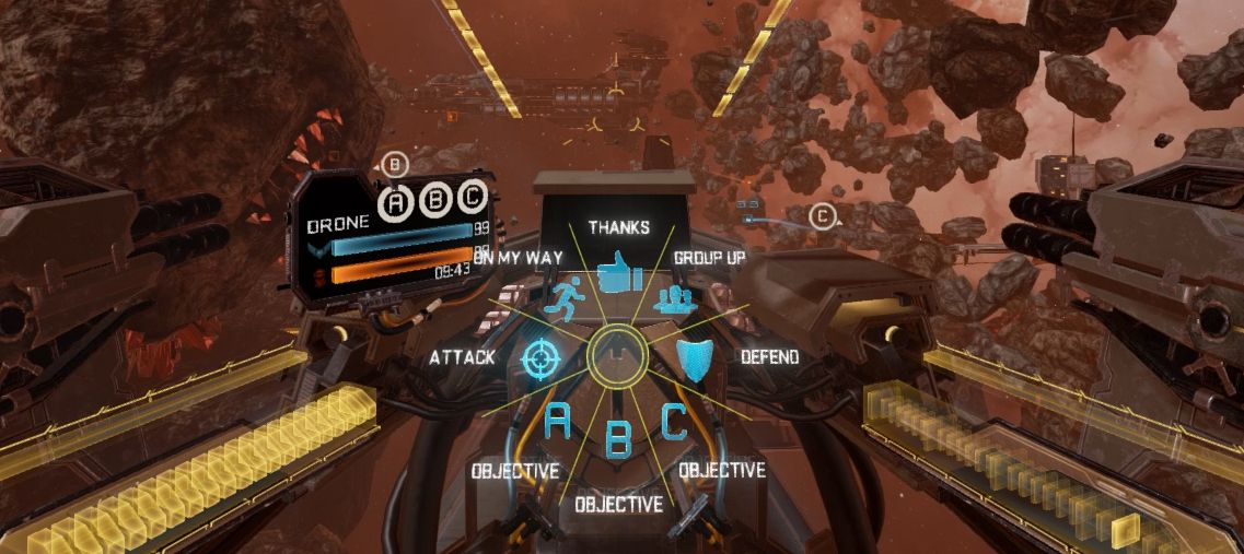 Com Alerts in Eve: Valkyrie