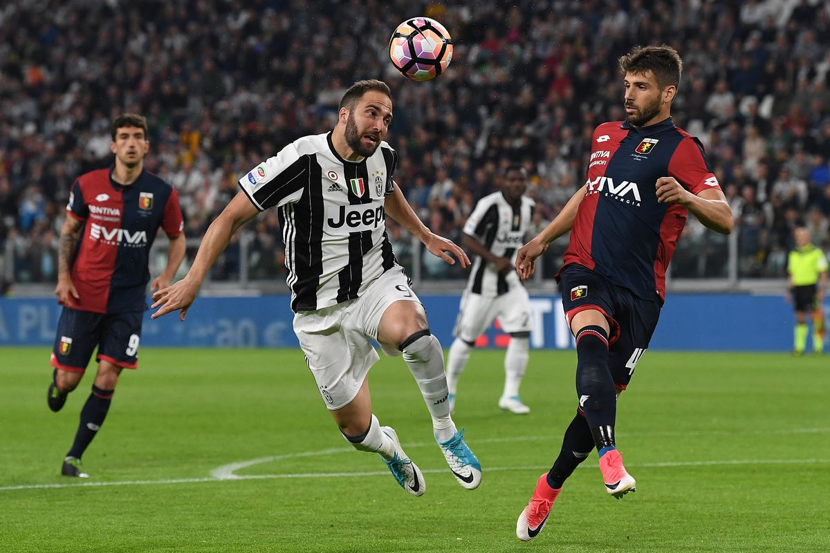 juventus vs genoa match preview time tv schedule and how to watch the serie a black. Black Bedroom Furniture Sets. Home Design Ideas