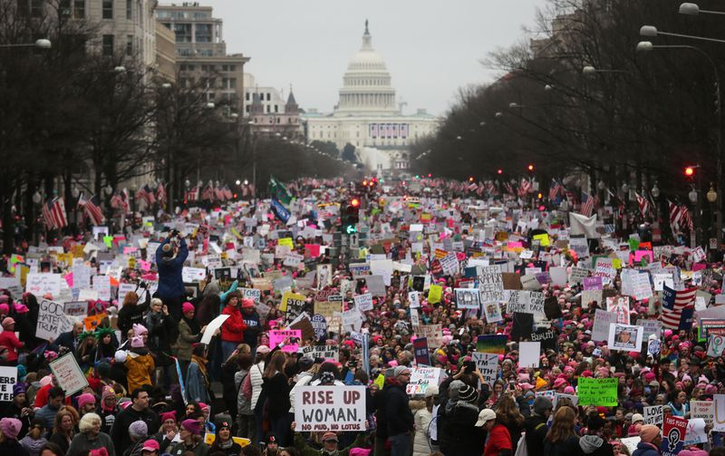 GettyImages_632327956 Young women are one of the most potent political forces of 2018