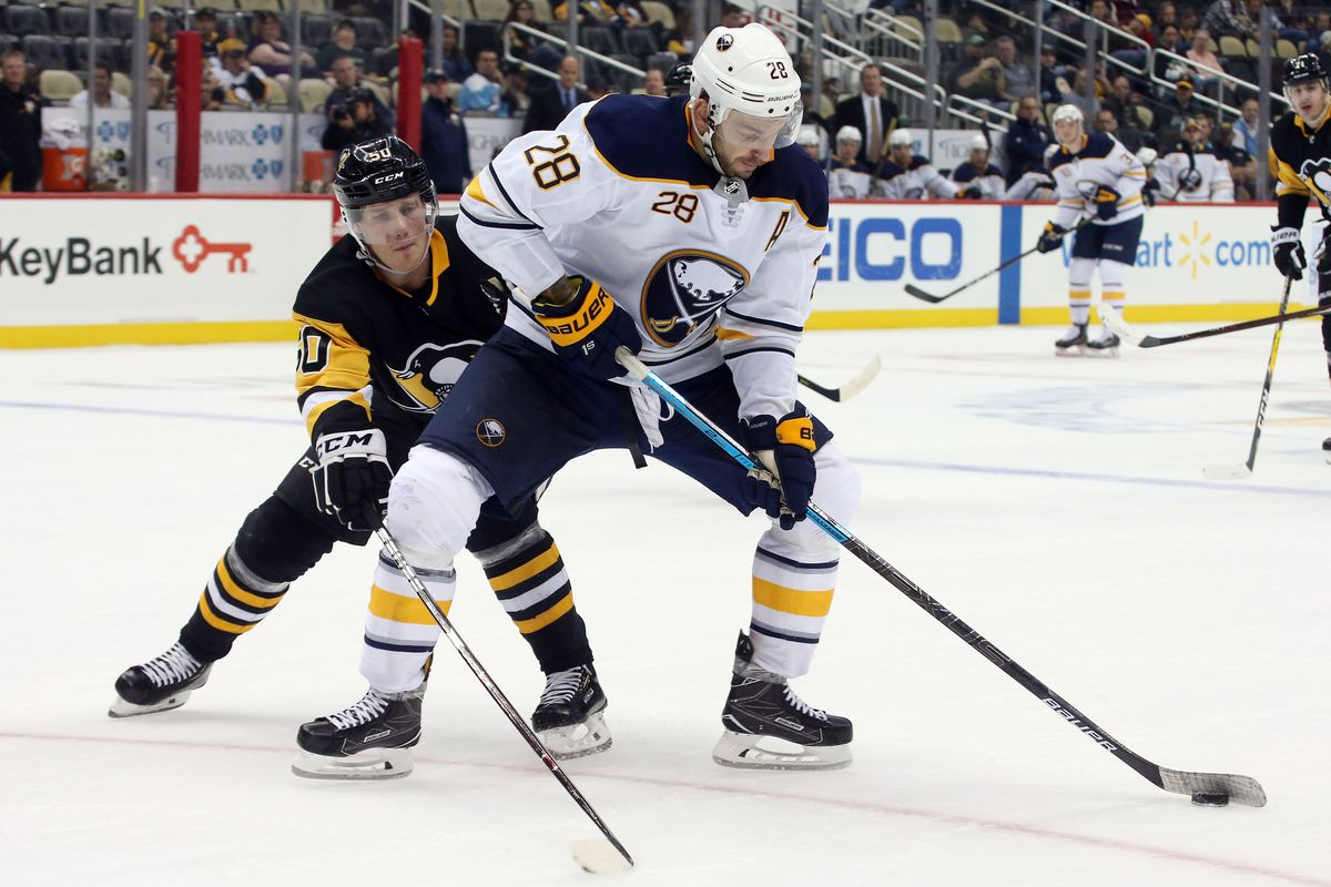 pittsburgh penguins vs buffalo sabres 11 19 2018 lines preview